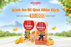 """Aiwado nối dài hành trình """"Bình An Đi Qua Mùa Dịch"""" trợ giá bằng 50.000 sản phẩm"""