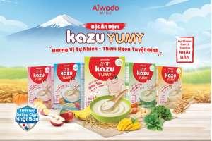 [Theo Tuoitre.vn] Aiwado ra mắt bột ăn dặm Kazu Yumy với tinh túy dưỡng chất từ Nhật Bản