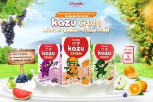 [Theo Dantri.com.vn] Aiwado mở rộng thị phần với sữa trái cây, sữa chua uống Kazu Chan