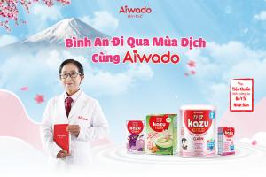 Aiwado trao tặng 10.000 sản phẩm sữa uống dinh dưỡng, chung tay cùng Việt Nam đi qua mùa dịch