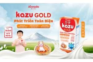 Kazu Gold Phát Triển Toàn Diện Đạt Tiêu Chuẩn Dinh Dưỡng của Bộ Y Tế Nhật Bản giúp trẻ Tự Tin Về Hình Thể, Tự Tin Về Trí Tuệ & Ít Đau Ốm