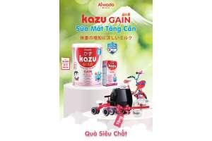 Kazu Gain Gold – Đạt tiêu chuẩn dinh dưỡng của bộ y tế Nhật Bản tặng quà siêu hot